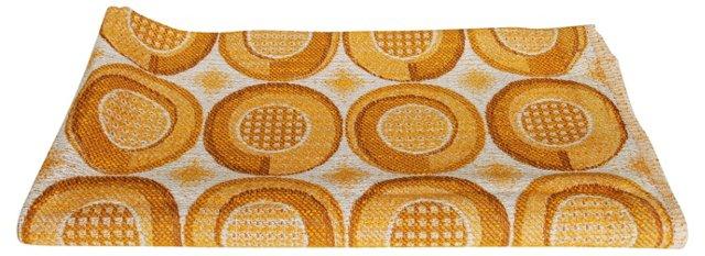Golden Scandinavian Fabric, 2.8 Yds
