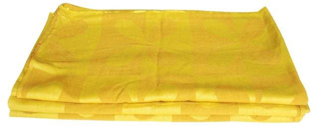 Chartreuse Scandinavian Fabric, S/3