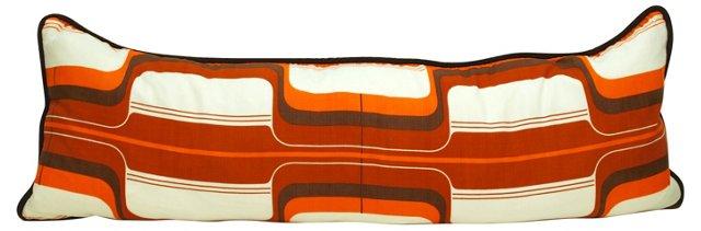 Rust & Orange    Body Pillow