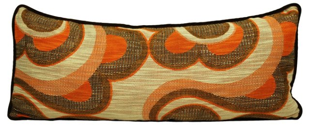 Orange &   Brown Body Pillow