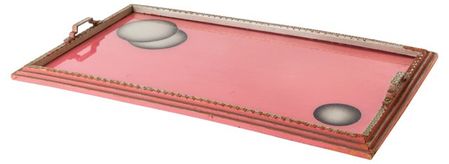 Pink Art Deco Tray