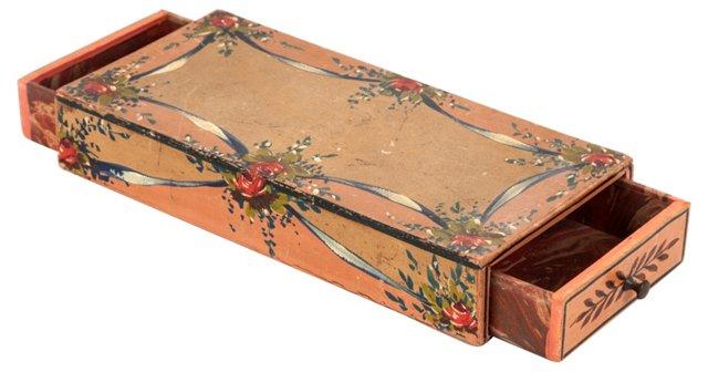 French Découpage Jewelry Box