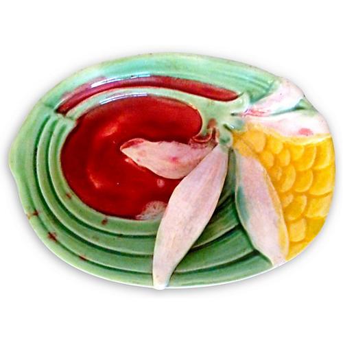 Ceramic Floral Tray