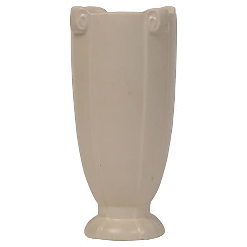 1930s Classical Ivory Vase