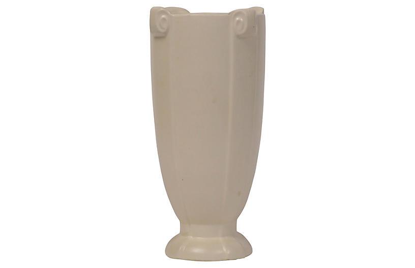 1930s Classical Ivory Vase