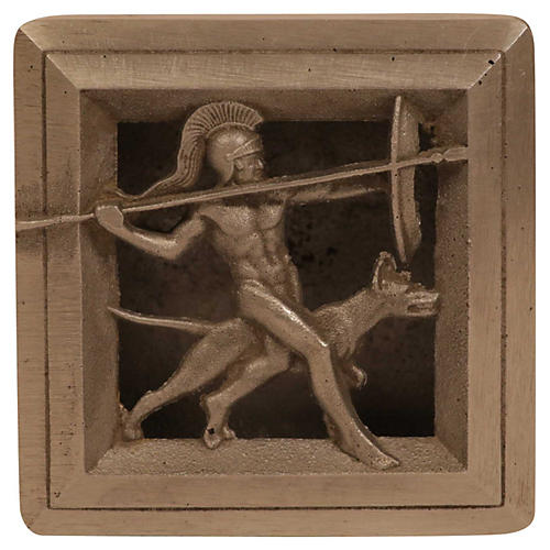Art Deco Lidded Gladiator Box