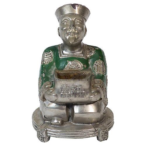 Chinese Figural Incense Burner