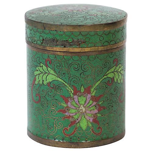 Japanese Closineee Cylindrical Box