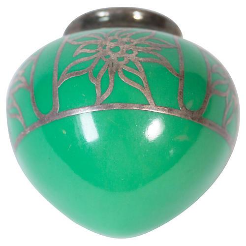 Art Deco Porcelian Wall Vase