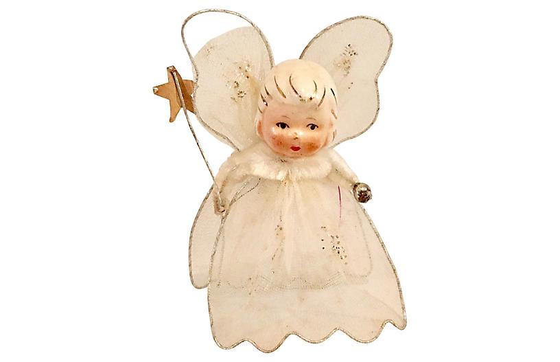 1950s Fairy Ornament