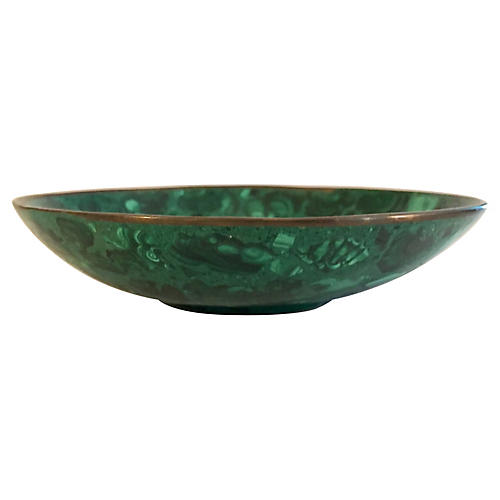 Malachite & Bronze Bowl