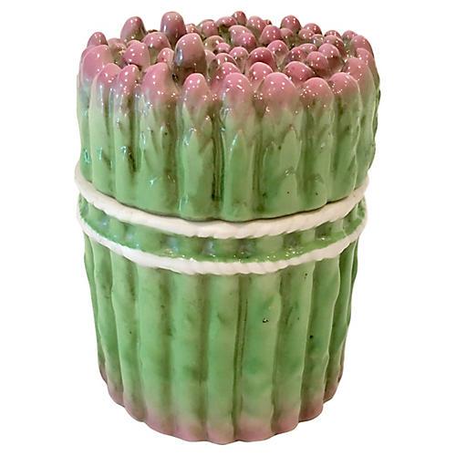Porcelain Asparagus Box