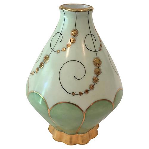 French Limoges Fine Porcelain Vase