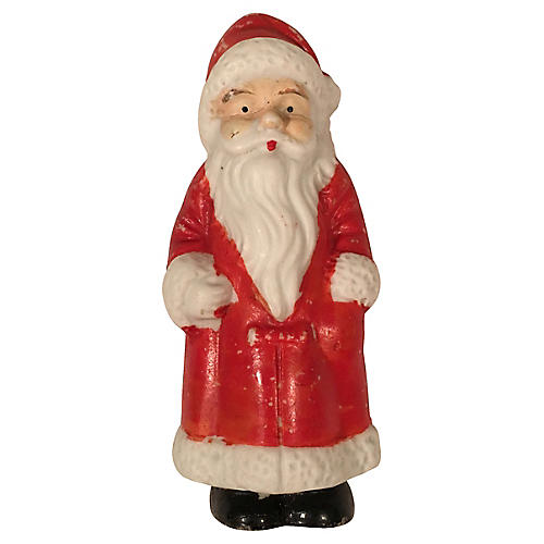 Antique Bisque Father Christmas Figure