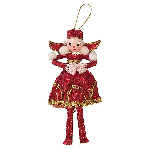 Large 1969 Snow Queen Ornament