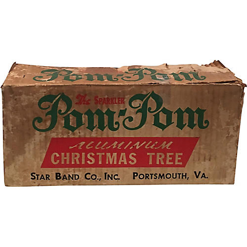 4ft Pom Pom Aluminum Tree w/ Stand
