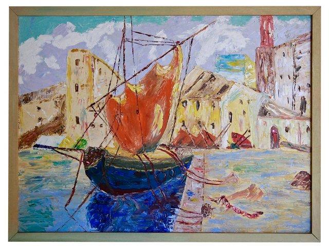 Venetian Boating Oil #2