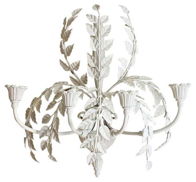 Italian Iron Wall Sconce