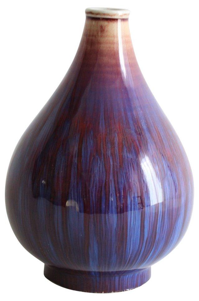 Ceramic Drip Glaze Vase