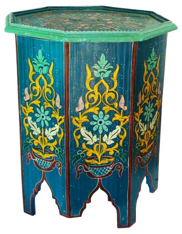 Antique Octagonal Moroccan Table