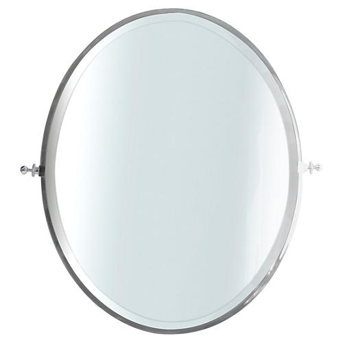 Chrome Tilting Mirror