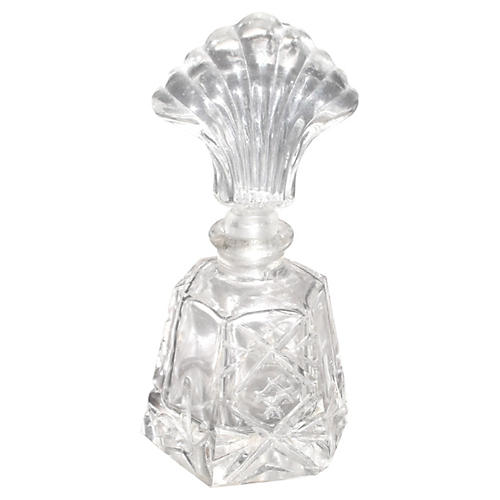 Crystal Perfume w/ Shell Stopper