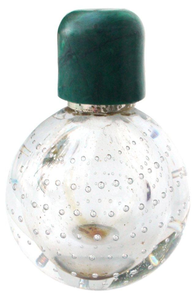 Handblown Bubble Perfume Bottle