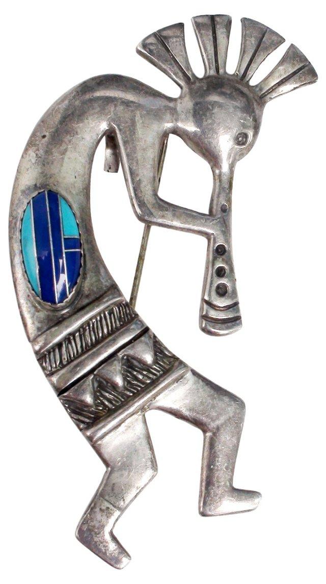 Hopi Kokopelli Pin