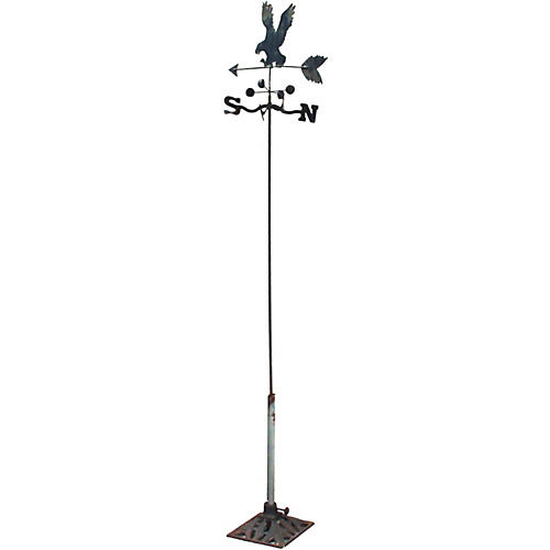 Folk Art Flying Eagle Weathervane