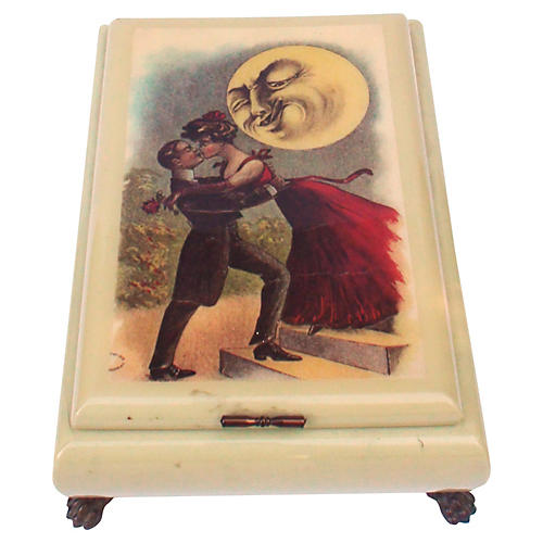 Lover's Moon Music Box