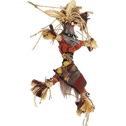 Native American-Style Shaman Spirit Doll