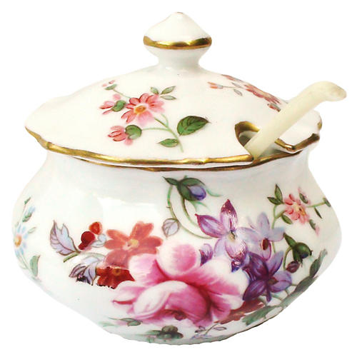 Royal Crown Miniature Spice Tureen