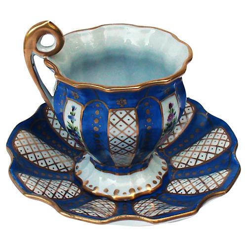 Oversize Parisian Delvaux Cup