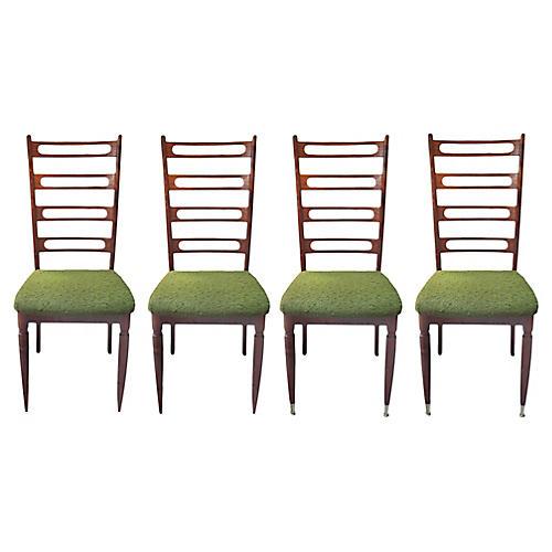 Cherrywood Ladderback Chairs