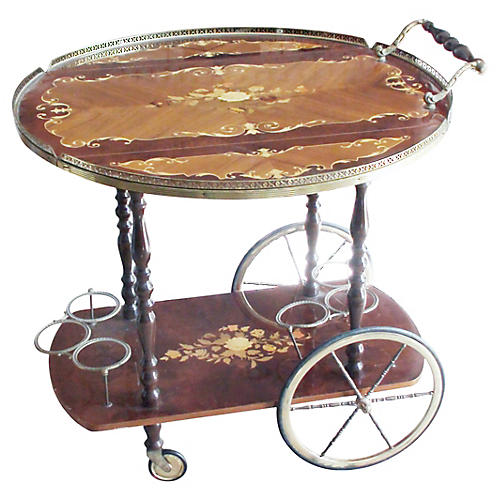 Casa Di Sorrento Bar Cart