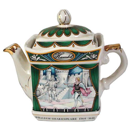 Sadler Staffordshire Hamlet Teapot