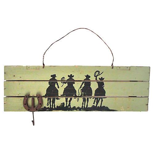 Cowboy Panel Key Hook
