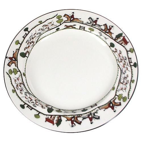 Staffordshire Hunt Platter