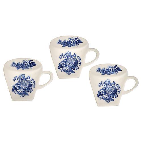 Spode Teacup Tidies, S/3