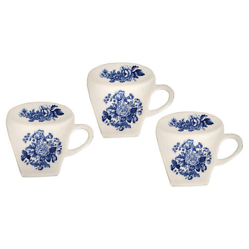 Spode Teacup Tidies, S/3