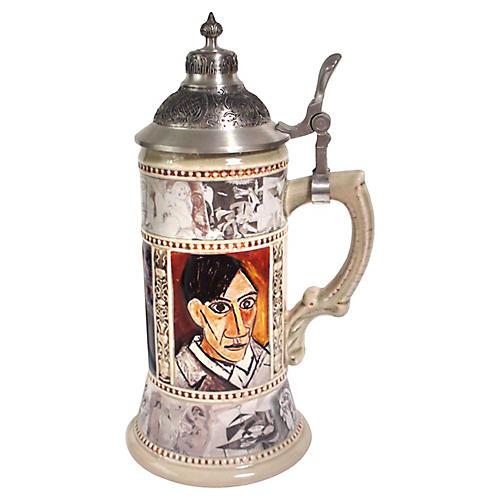 Pablo Picasso Beer Stein