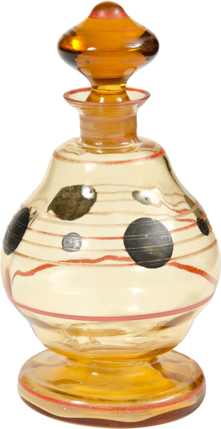 Hand-Painted Perfume Bottle