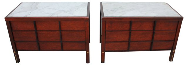 American of Martinsville Tables, Pair