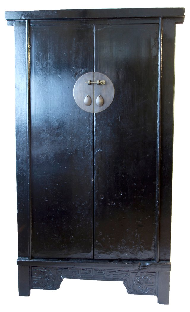 19th-C. Chinese Cabinet