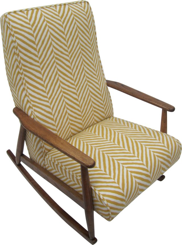 1960s Chevron Rocker