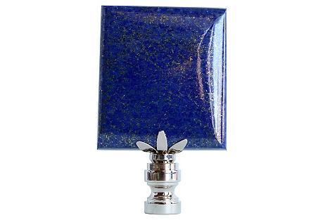Lapis Lazuli Stone Lamp Finial