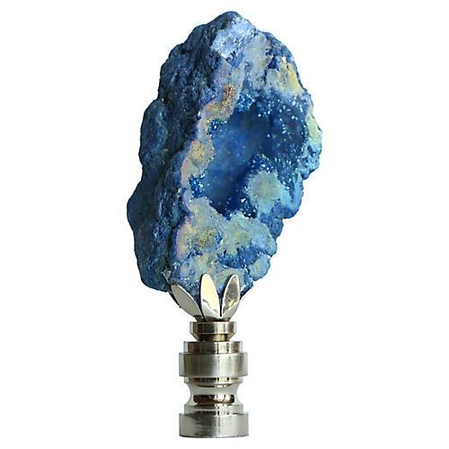 Titanium Geode Lamp Finial
