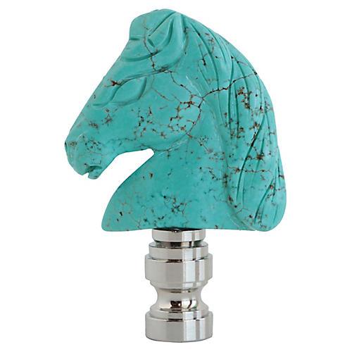 Turquoise Stallion Lamp Final