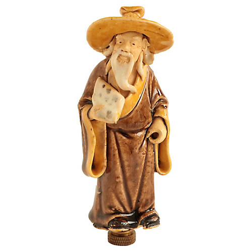 Chinese Figural Lamp Finial 3df401b0f4ed