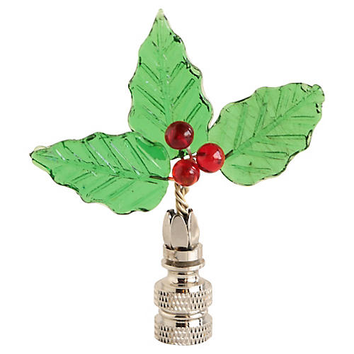 Holly Lamp Finial